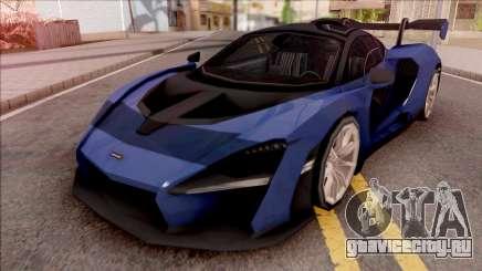 McLaren Senna 2019 Blue для GTA San Andreas