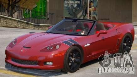 Chevrolet Corvette C6 V1 для GTA 4