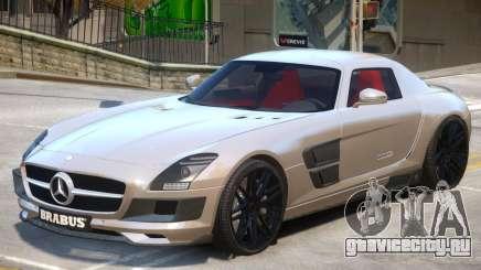 Mercedes Benz SLS Widestar для GTA 4