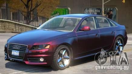 Audi A4 V1 для GTA 4