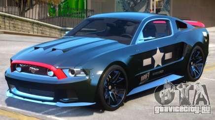 Ford Mustang V1 PJ1 для GTA 4