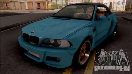 BMW M3 E46 Cabrio Widebody для GTA San Andreas