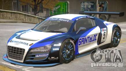 Audi R8 GT-S V1 PJ2 для GTA 4