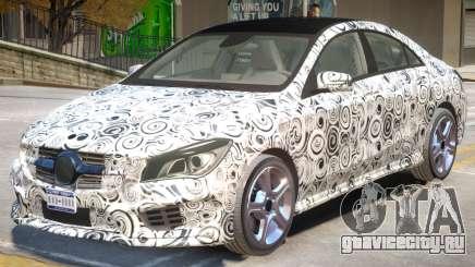 Mercedes Benz CLA V1 PJ для GTA 4