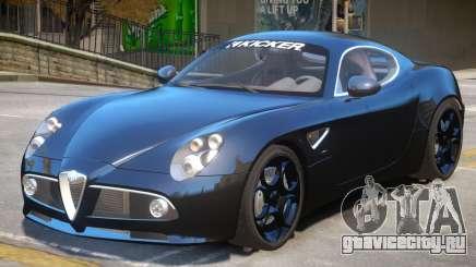 Alfa Romeo Competizione для GTA 4