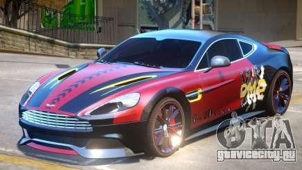 Aston Martin Vanquish PJ для GTA 4