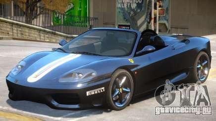 Ferrari 360 V1.2 для GTA 4