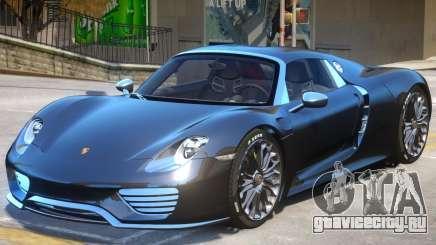 Porsche 918 Spyder V2 для GTA 4