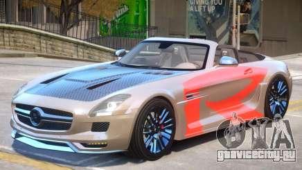 Mercedes Benz SLS Rodster PJ2 для GTA 4