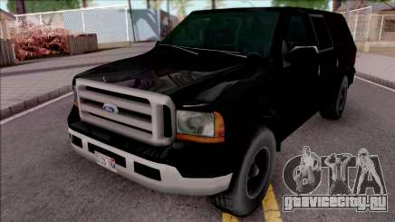Ford Excursion SWAT Low Poly для GTA San Andreas