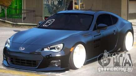 Subaru BRZ Improved для GTA 4