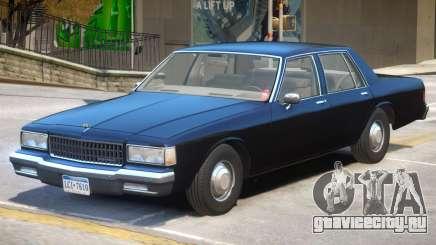 1989 Chevrolet Caprice V1 для GTA 4