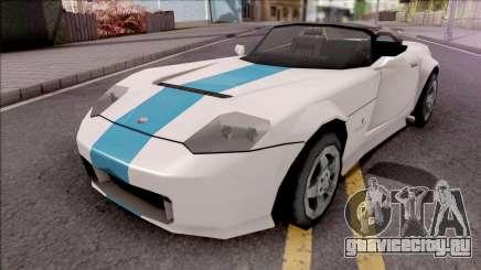 Bravado Banshee 2008 Lowpoly для GTA San Andreas