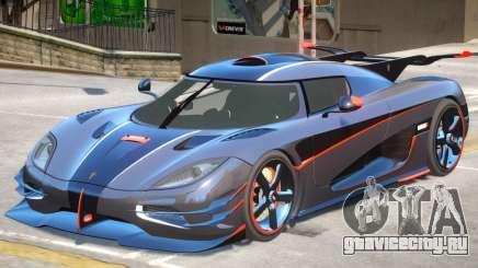 Koenigsegg One V1.2 для GTA 4