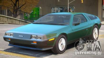 DeLorean DMC V2 для GTA 4