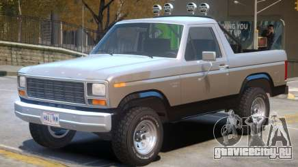 1980 Ford Bronco V1 для GTA 4