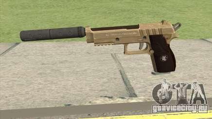 Hawk And Little Pistol GTA V (Army) V6 для GTA San Andreas