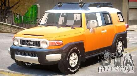 Toyota FJ Cruiser V1 для GTA 4