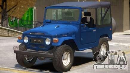 Toyota FJ40 V1.1 для GTA 4