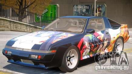 1986 Mitsubishi Starion PJ2 для GTA 4