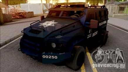 Lenco Bearcat G3 Policia Federal для GTA San Andreas