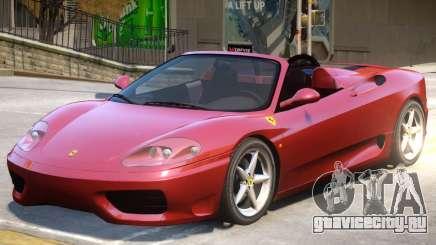 Ferrari 360 V1 для GTA 4