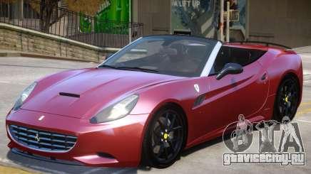 Ferrari California V1.2 для GTA 4