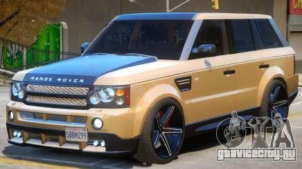 Range Rover Sport V2 для GTA 4