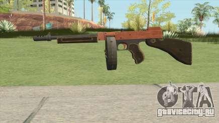 Edinburgh Gusenburg Sweeper GTA V (Orange) V1 для GTA San Andreas