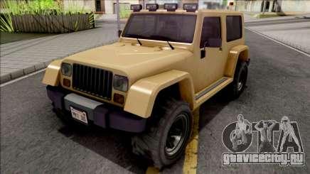 GTA V Canis Mesa Grande SA Style для GTA San Andreas
