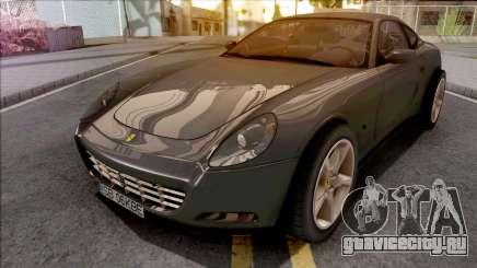 Ferrari 612 Scaglietti Grey для GTA San Andreas