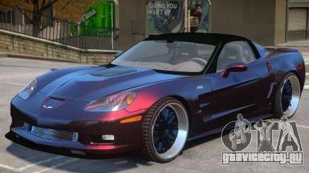 Chevrolet Corvette ZR1 V1 для GTA 4