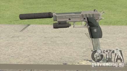Hawk And Little Pistol GTA V Black (Old Gen) V3 для GTA San Andreas