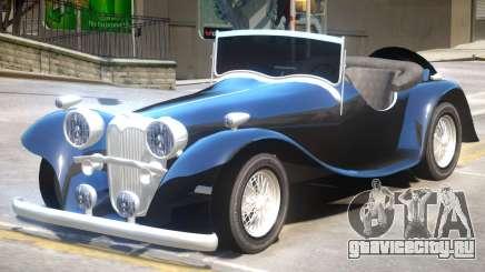 Jaguar SS100 V1 для GTA 4