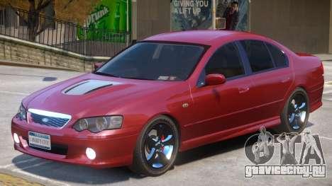 Ford Falcon R1 для GTA 4