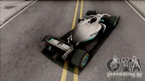 Mercedes-AMG F1 W10 2019 (C3 Tyres Yellow) для GTA San Andreas