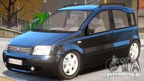 Fiat Panda V1 для GTA 4