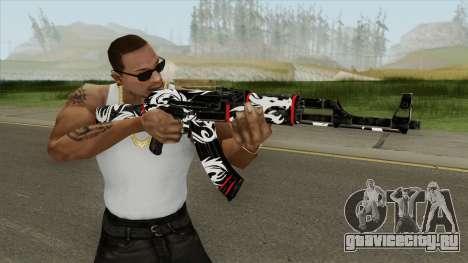 AK-47 Dragon для GTA San Andreas