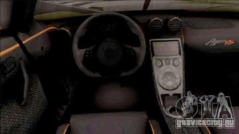 Koenigsegg Agera RS 2016 для GTA San Andreas