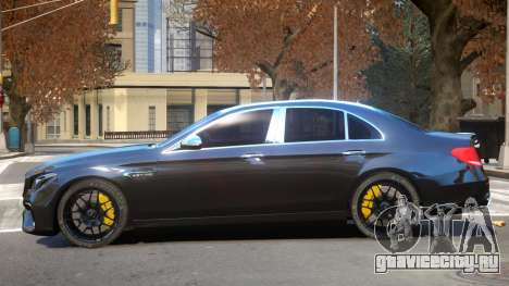 Mercedes Benz E63 Upd для GTA 4
