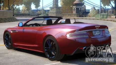 Aston Martin Volante V1.3 для GTA 4
