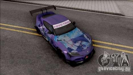 Toyota Supra A90 2019 Rocket Bunny Pandem для GTA San Andreas