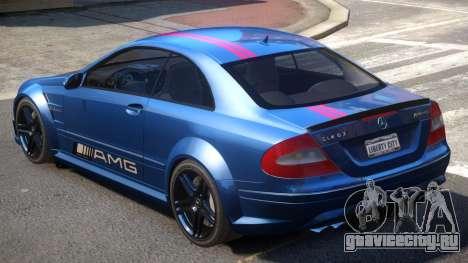 Mercedes CLK63 AMG V1 PJ2 для GTA 4