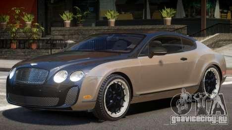Bentley Continental V1.0 для GTA 4