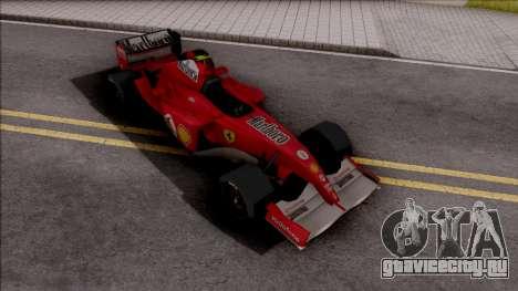 Ferrari F2005 F1 для GTA San Andreas