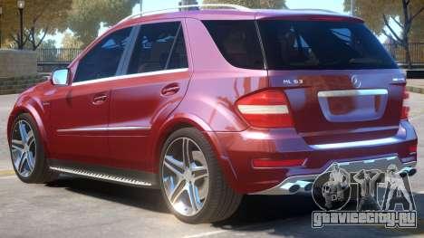 Mercedes Benz ML63 R1 для GTA 4