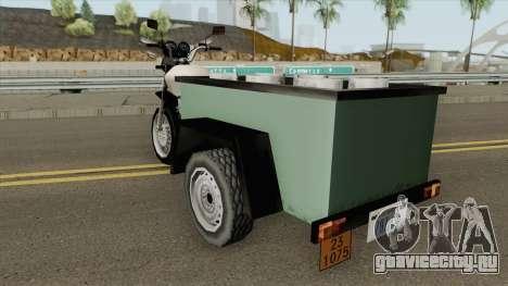 Triciculo Do Gas (UltraGaz e Variacao) для GTA San Andreas