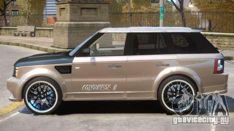 Range Rover Conqueror R1 для GTA 4