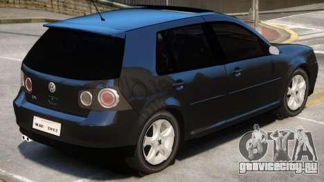 Volkswagen Golf V1.1 для GTA 4