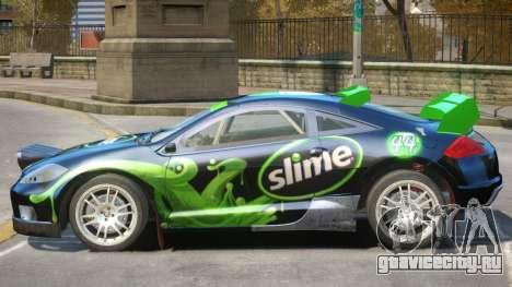 Mitsubishi Eclipse Rally PJ3 для GTA 4